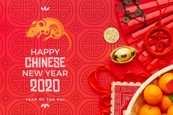<span class='yzk_title_91183'>新年元素模板 Happy chinese new year mock-up PSD file</span>